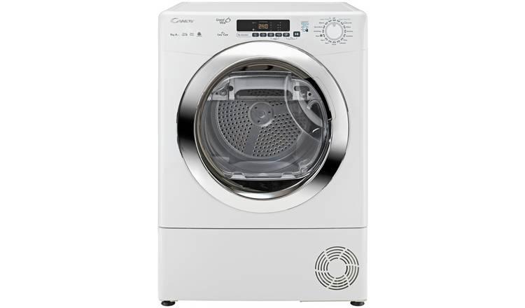 Efficient heat pump and dryer service